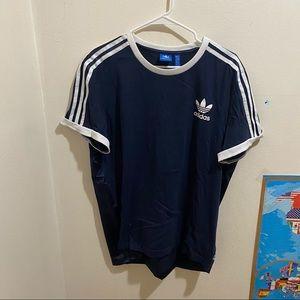 Adidas Logo Tee w/silk/satin back